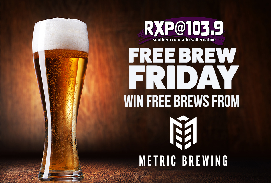 Free Brew Friday Metric 2020