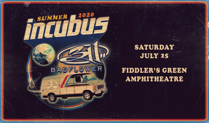 Incubus & 311 *CANCELLED*