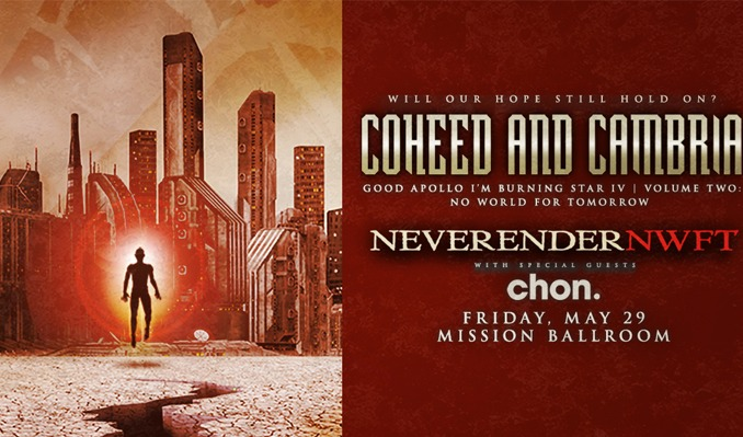 Coheed and Cambria *CANCELLED*
