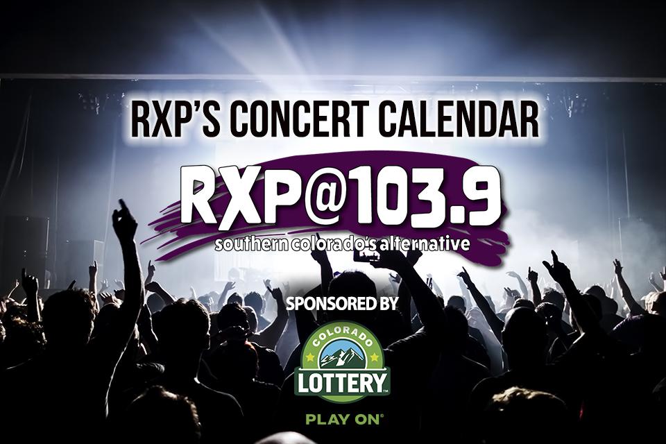 Rxp Concert Calendar