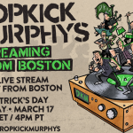 Dropkick Murphys announce free streaming concert on St. Paddy's Day