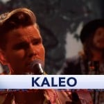 WATCH: Kaleo perform new single on the Late Show with Stephen Colbert