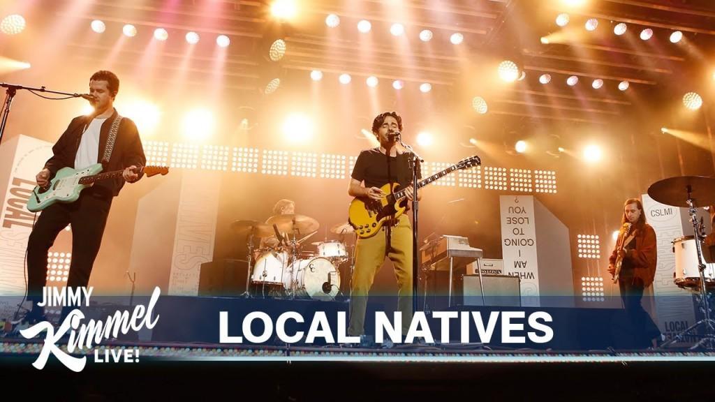 Local Natives Kimmel