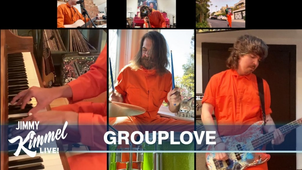 Grouplove Kimmel Live From His House