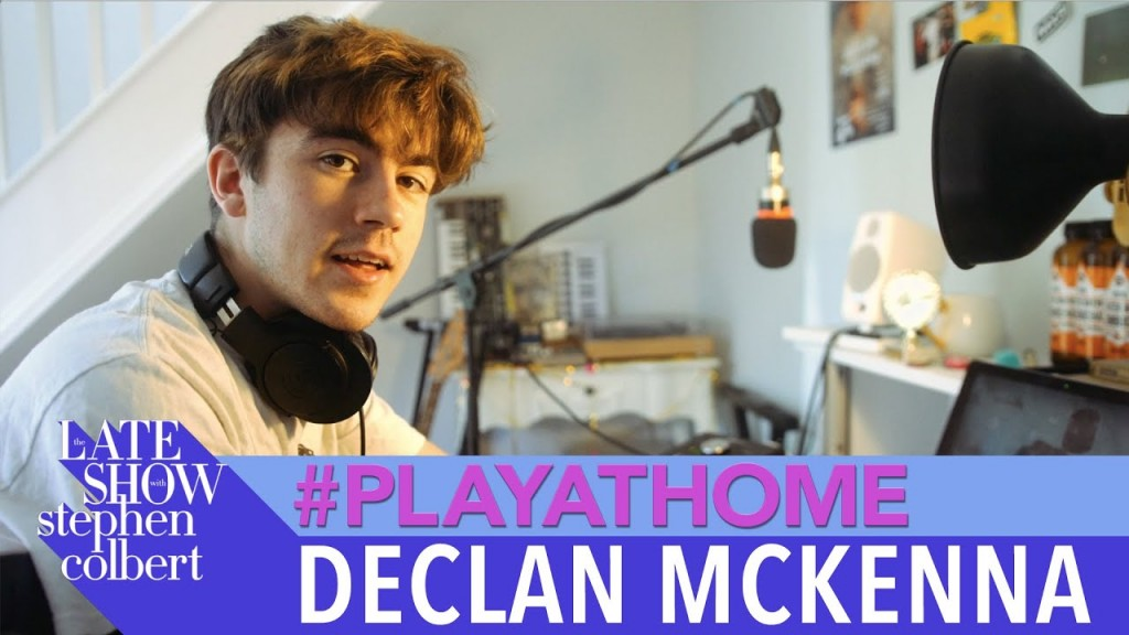 Declan Mckenna Play At Home Colbert