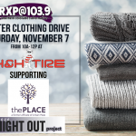RXP and H&H Tire Coat Drive | Benefiting The Place