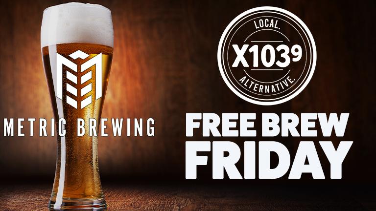 Free Brew Friday Metric Brewing X1039