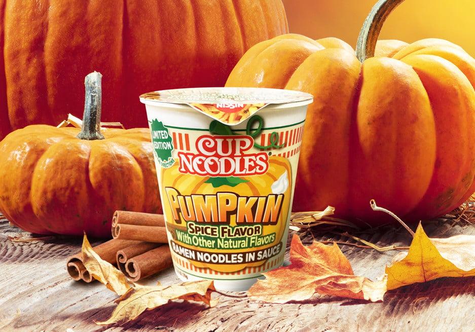 Nissin Foods Cup Noodles Pumpkin Spice 1