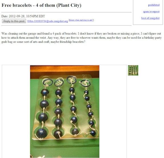 Craigslist sex toys