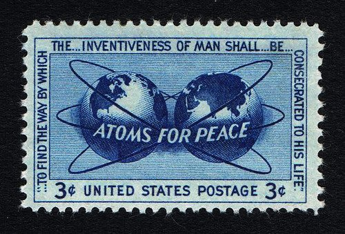 1955 Atoms for Peace 3¢ Stamp