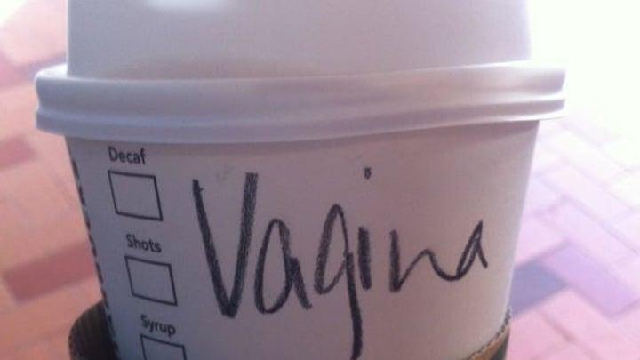 vagina starbucks