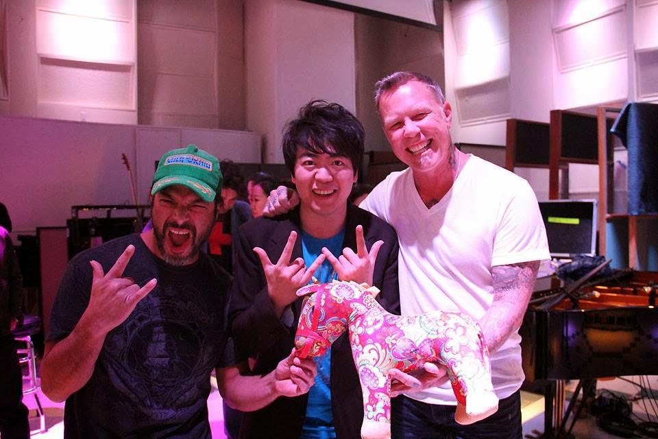 Metallica.Grammy rehearsal.Lang Lang.James Rob.promoFB.0124