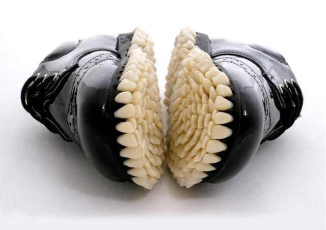 teeth shoes