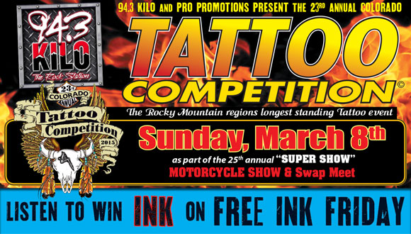 23rd Annual Colorado Tattoo Competition 2015