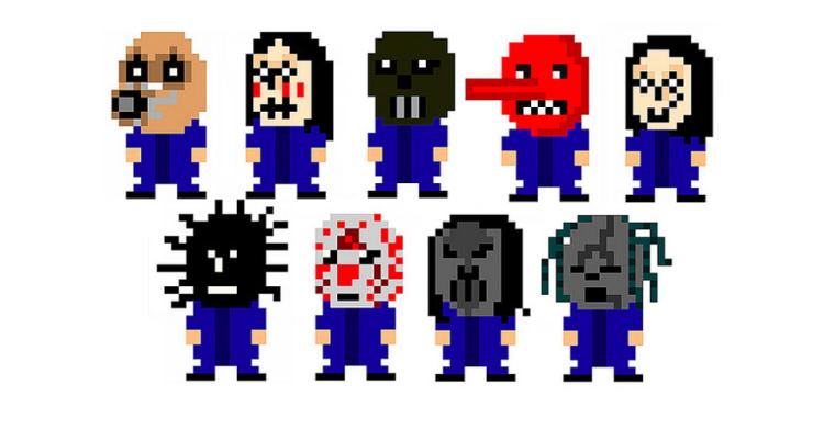 Slipknot-8-bit