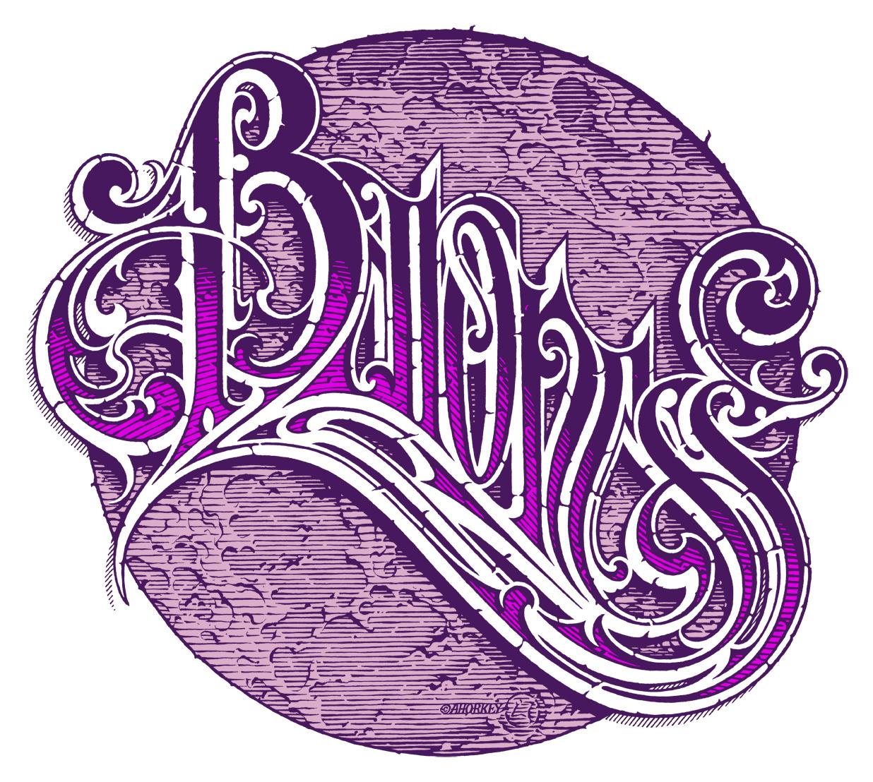 Baroness Logo - Purple