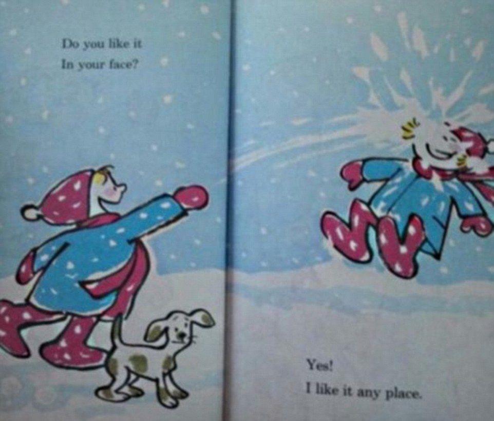 ACCIDENTAL innuendo in children's books has been revealed in hilarious Internet gallery.