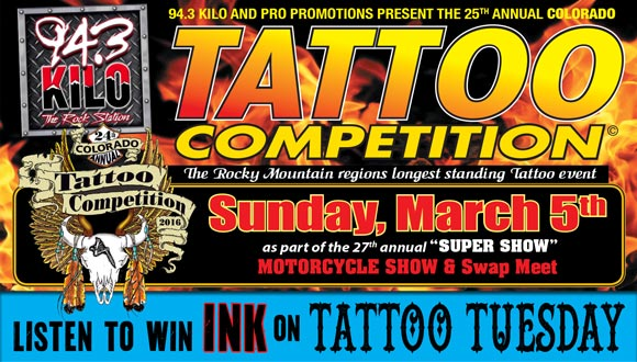 25TH ANNUAL COLORADO TATTOO COMPETITION