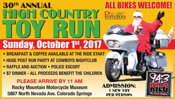 30th Annual High Country Toy Run