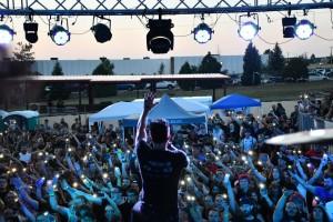 Lighting Up The Crowd