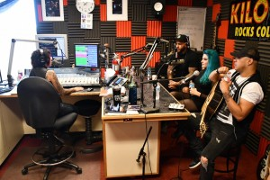 Shawn Rock Talking With Tommy And Doc Of Bad Wolves And Diamante