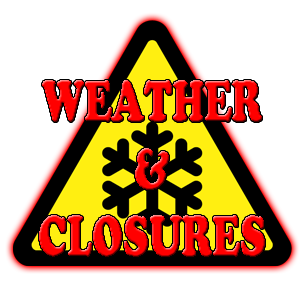 Weather Closures