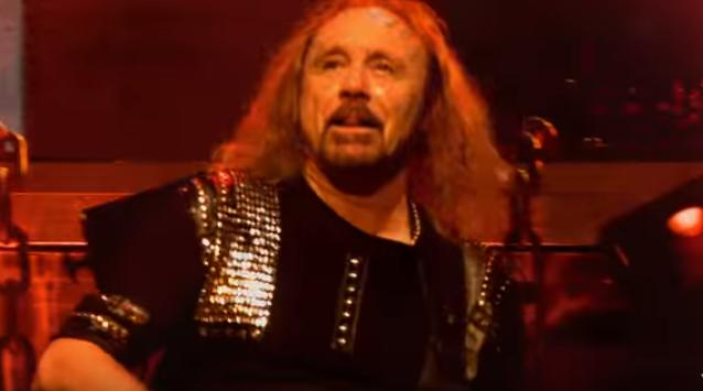 IAN HILL OF JUDAS PRIEST CHECKS IN WITH SHAWN ROCK