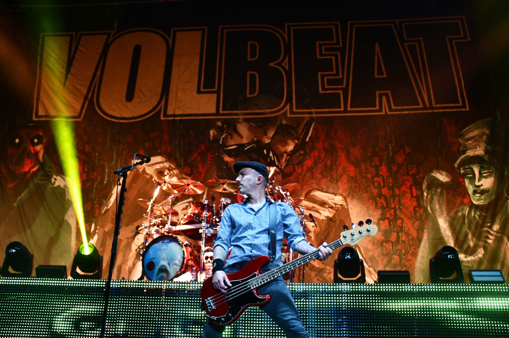 Behemoth, Gojira, Volbeat @ The Pepsi Center - Photos