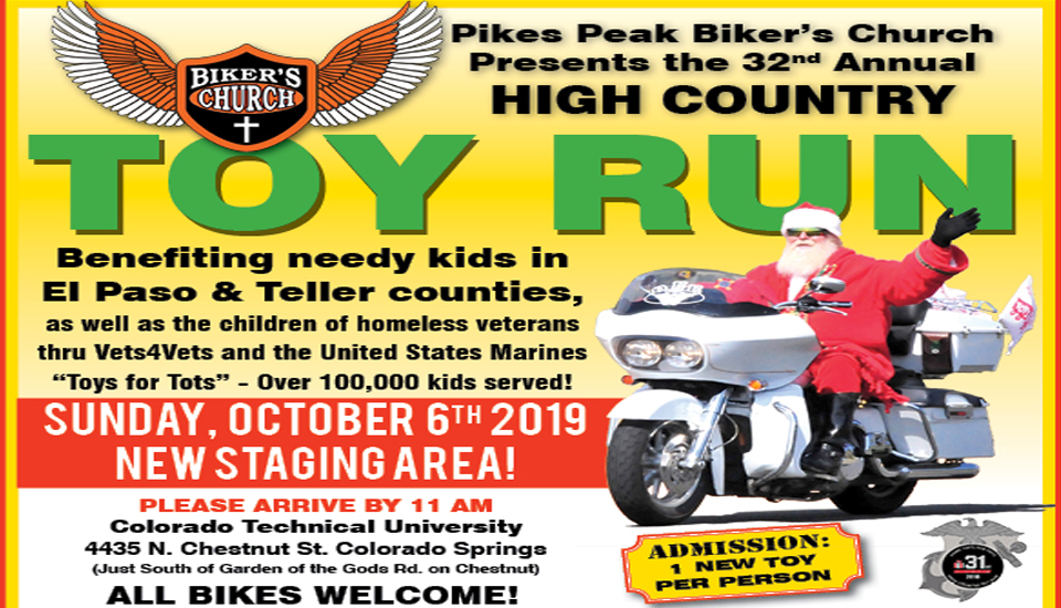 32nd Annual High Country Toy Run