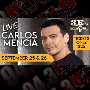 Carlos Mencia Checks In With Shawn Rock