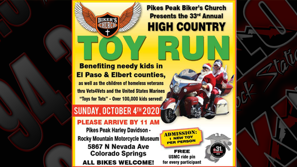 High Country Toy Run 2020