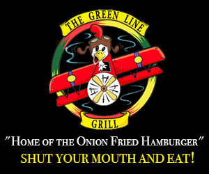 Green Line Grill Right Rail Ad