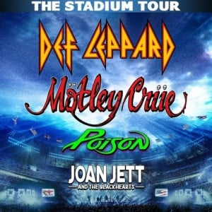 Stadium Tour Motley Crue Def Leppard