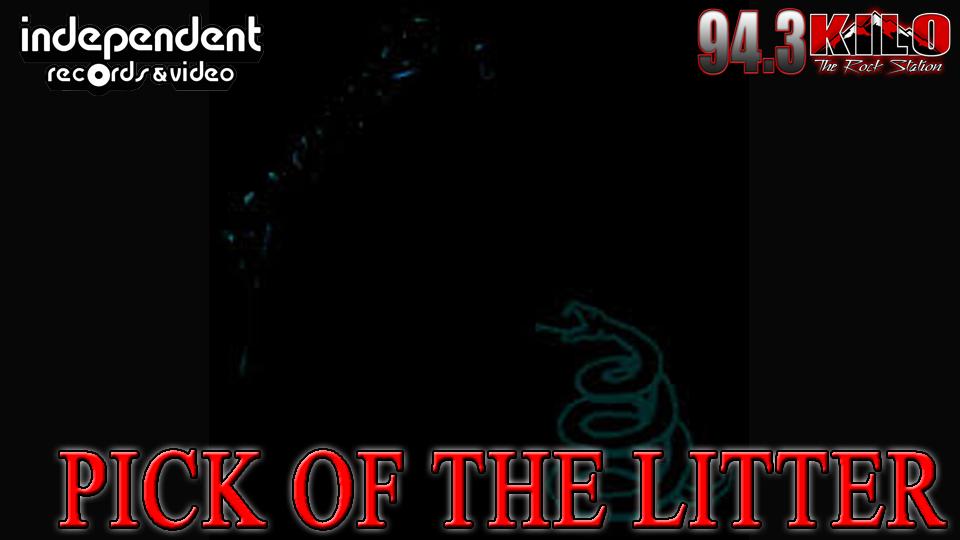 Metallica Black Pick Of The Litter Web