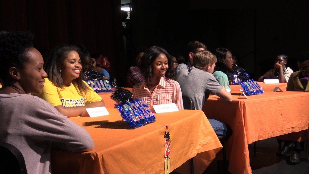 Central High School in Macon celebrated the 2016 seniors with an Academic Signing Day.