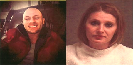 Blake Fitzgerald and Brittany Nicole Harper's crime spree ended Friday.
