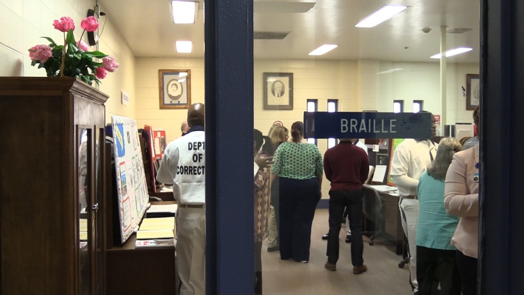 Inmates present braille presentations at Central State Prison
