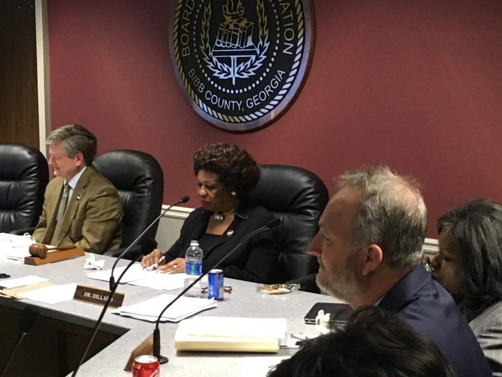 Bibb County School Board Meeting Stop Cameras