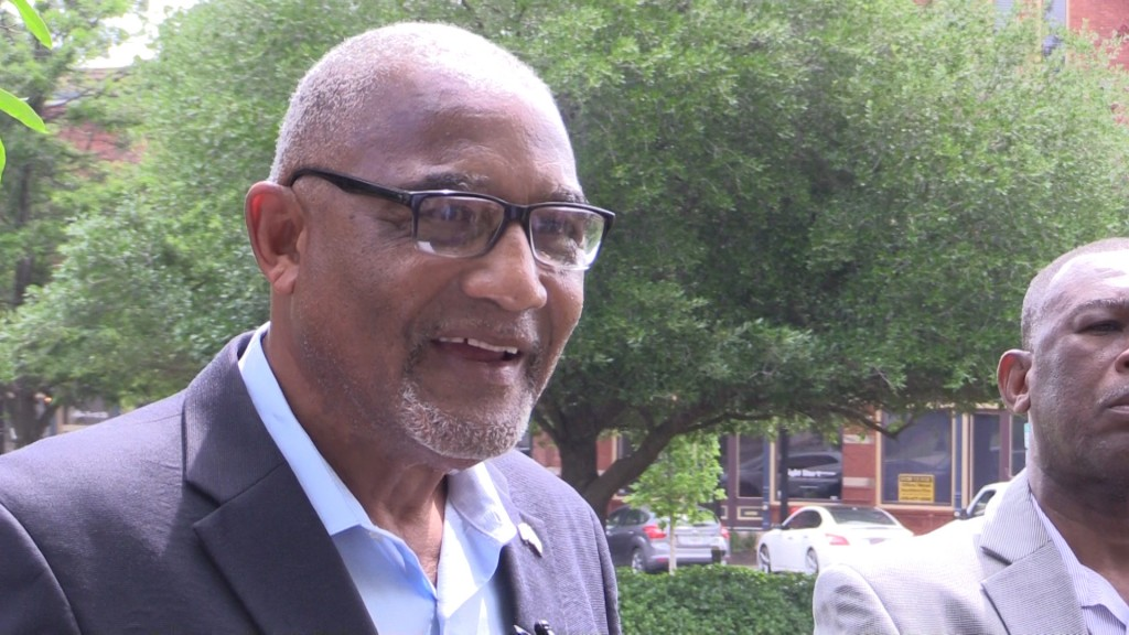 Former Macon mayor C. Jack Ellis held a news conference Friday voicing his concern with craft beer festival being held at Rosa Parks Square in downtown Macon.