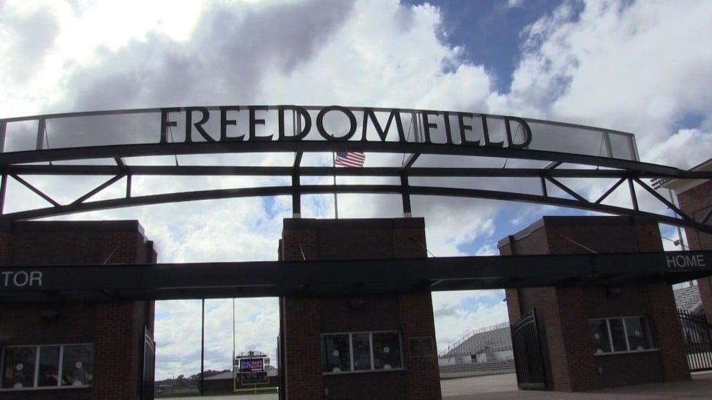 The Freedom Field stadium in Warner Robins.
