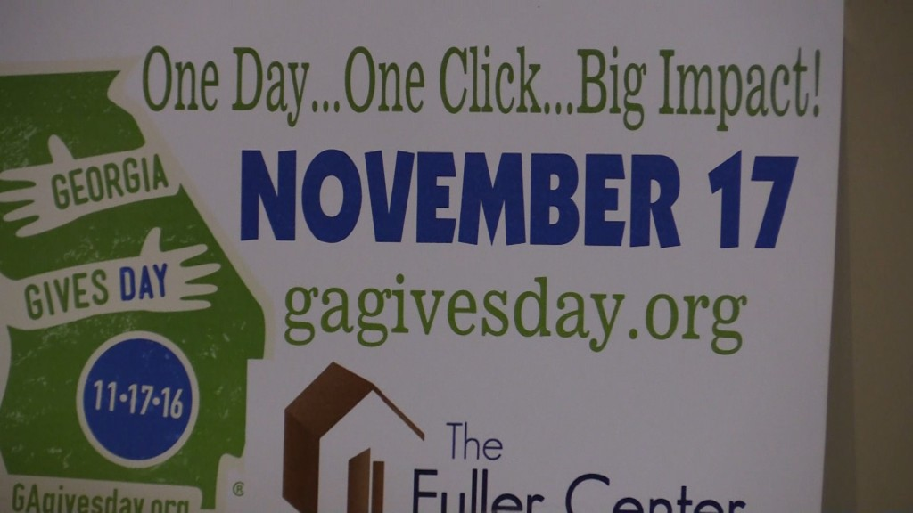 Georgia Gives Day allows charities to receive donations all day Thursday.
