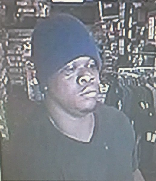 Robbery suspect in Macon.
