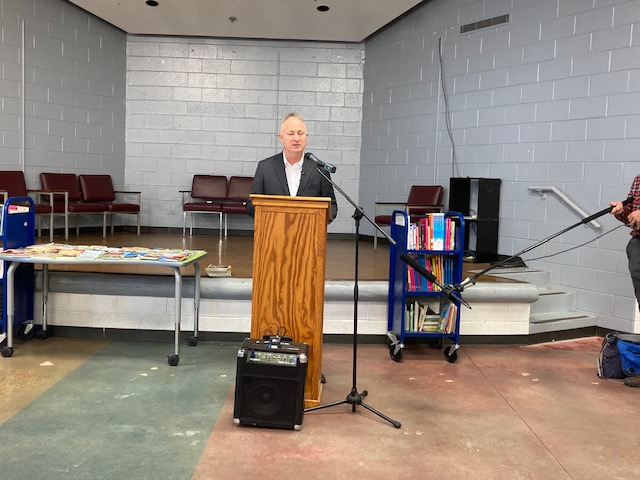 Former Brookdale Elementary will house the Brookdale Warming center.