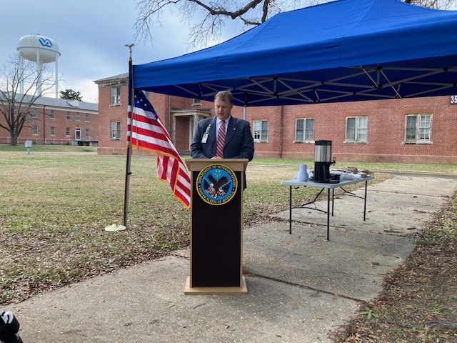 The Carl Vinson VA Medical center announced their housing project.