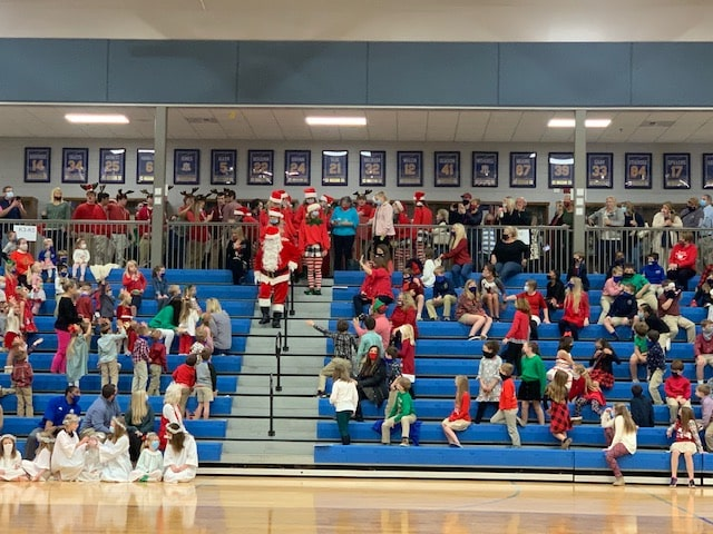 Tattnall Square Academy held annual Christmas Program.