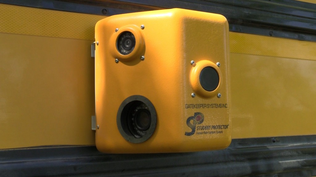 Jones County bus cameras