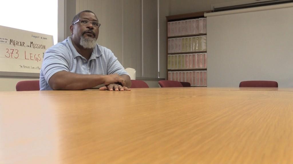 Mercer Associate Professor Dr. Stephen Hill discusses the Colonial Pipeline Break Wednesday.