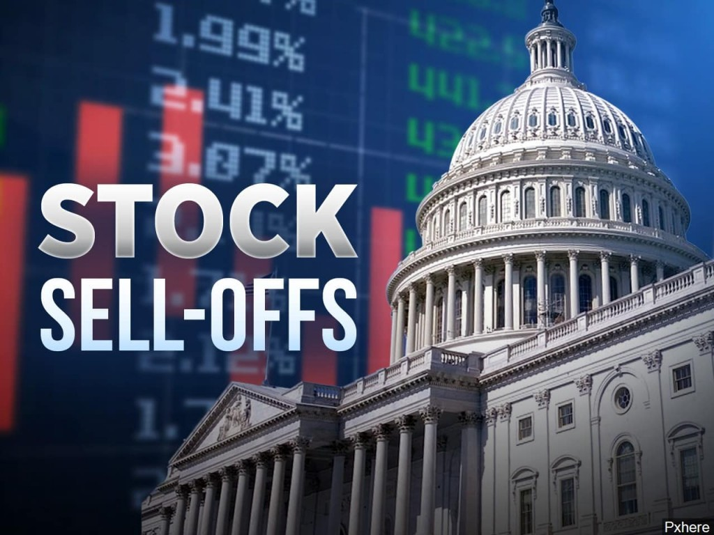 Stock sell-offs