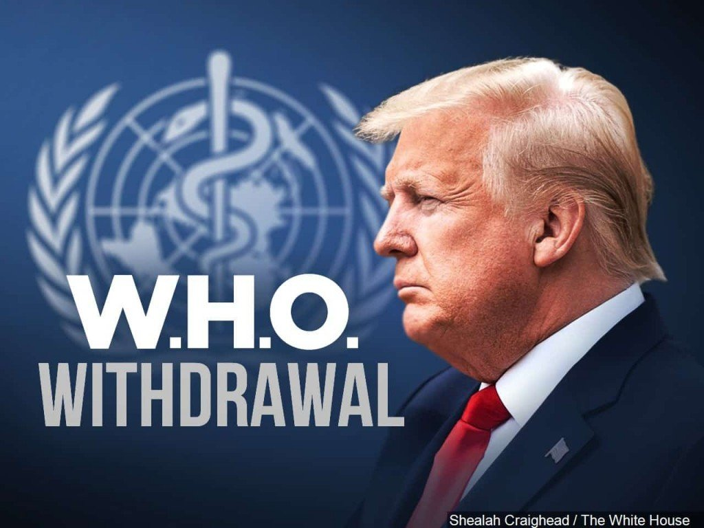 Trump WHO World Health Organization