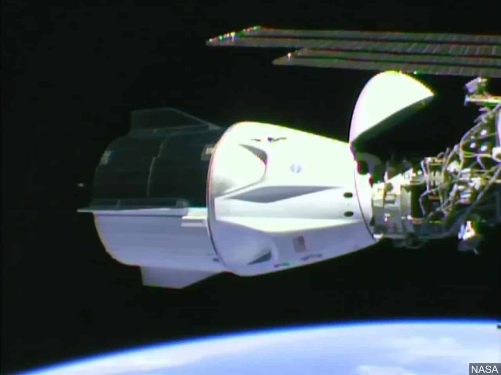 SpaceX docks International Space Station ISS